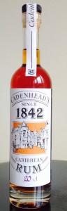 Cadenhead's Dark Rum 1842 Cask review by the fat rum pirate