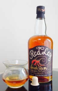 Red Leg Spiced Rum reivew by the fat rum pirate