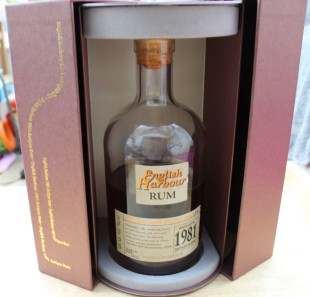 English Harbour 1981 Rum Review by the fat rum pirate