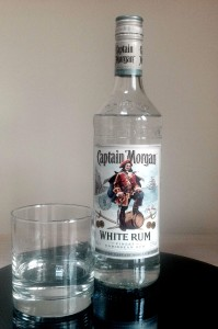 Captain Morgan White Rum review by the fat rum pirate