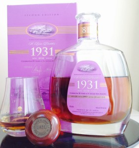 1931 St Lucia Distillers (2nd Edition) review by the fat rum pirate