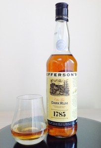 Jefferson's 1785 Dark Rum review by the fat rum pirate