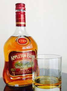 Appleton Estate Signature Blend rum review by the fat rum pirate