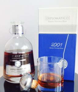 Diplomatico Single Vintage 2001 rum review by the fat rum pirate