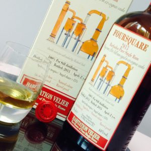 Habitation Velier Foursquare 2013 rum review by the fat rum pirate