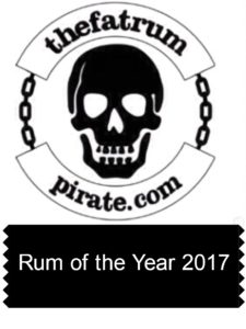 Rum of the Year 2017 by the fat rum pirate