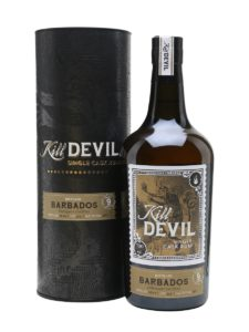 Kill Devil Barbados 2007 9 year old rum review by the fat rum pirate