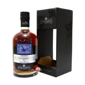 Rum Nation Panama 18 Rum Review by the fat rum pirate