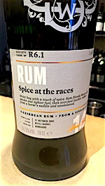 Scotch Malt Whisky Society Spice at the Races Rum Review by the fat rum pirate r6.1
