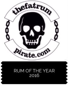 the fat rum pirate rum of the year 2016 review blogger rum award